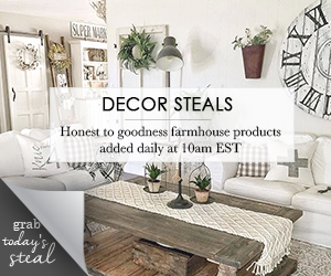 Decor Steals is a daily deal site that offers 3 new deals every day!