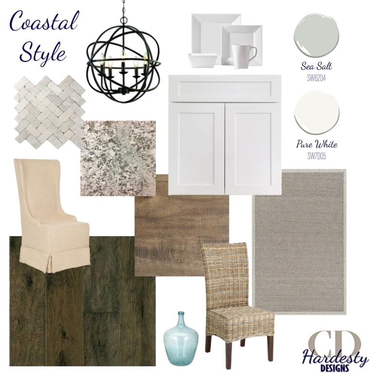 Interior Design concept board to help you visualize your new space!